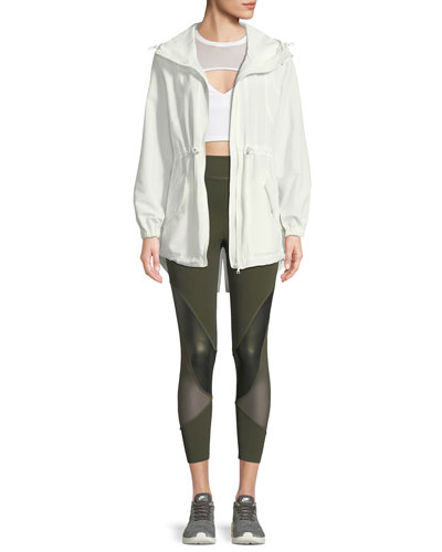 Ophilie Hooded Zip-Front Anorak Jacket and Matching Items