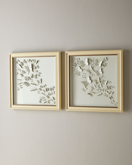 Butterfly Family I  Wall Art