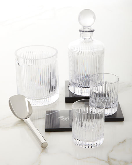 Waterford Crystal Aras Ice Bucket with Scoop