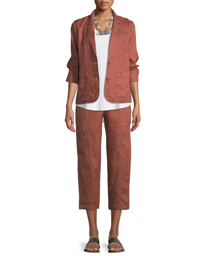 Organic Linen Blazer and Matching Items