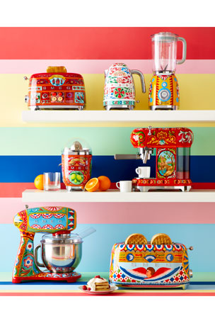 Smeg Dolce Gabbana x SMEG Sicily Is My Love Juicer Dolce Gabbana x SMEG Sicily Is My Love Toaster