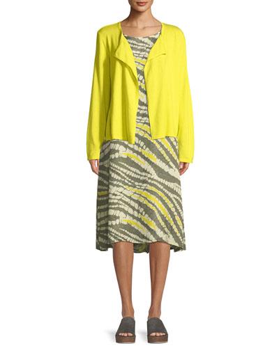 Nan Abstract-Print Short-Sleeve Dress and Matching Items