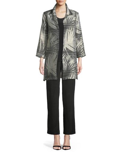 Shimmering Palms Shirt Jacket  and Matching Items