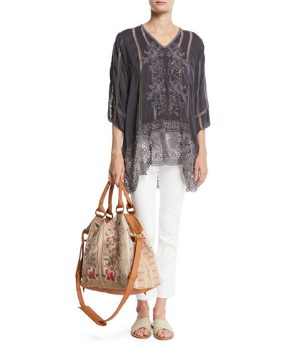 Elle Crochet-Trim Tunic and Matching Items