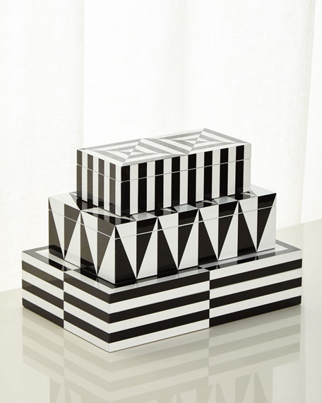 Op Art Small Stacking Box