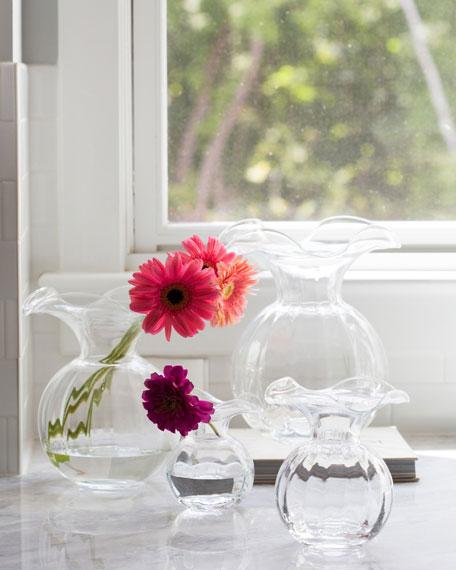 Vietri Hibiscus Medium Fluted Vase