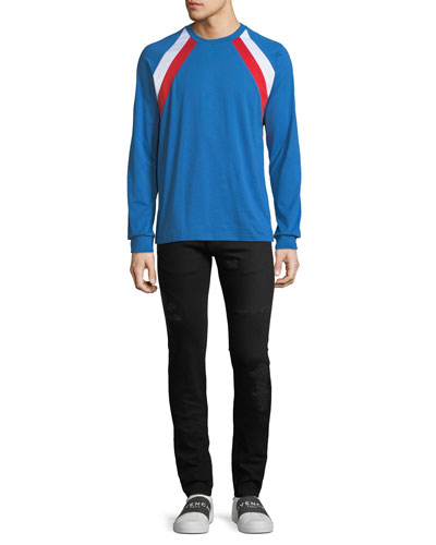 Men's Colorblock Long-Sleeve T-Shirt and Matching Items