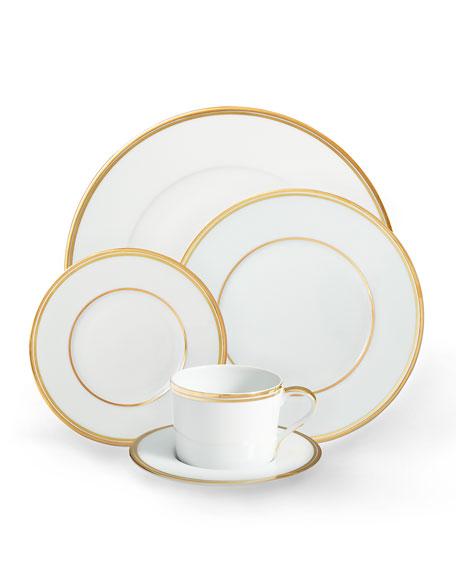Ralph Lauren Home Wilshire Tea Cup and Saucer, Gold
