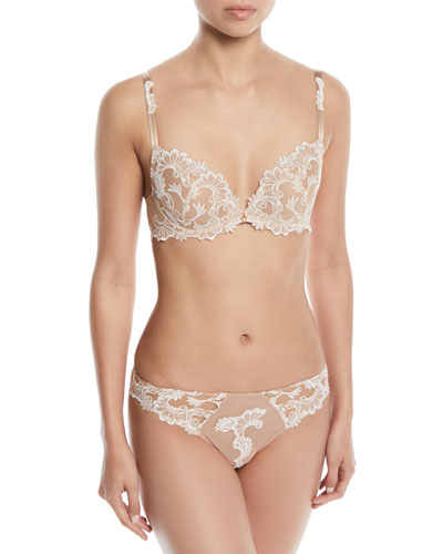 Dressing Floral Contour Bra and Matching Items