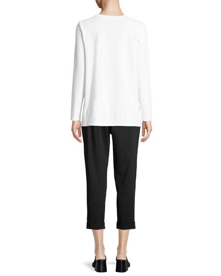 Organic Cotton Jersey Pocket Top
