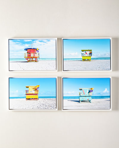 Lifeguard Chair Giclee, 24