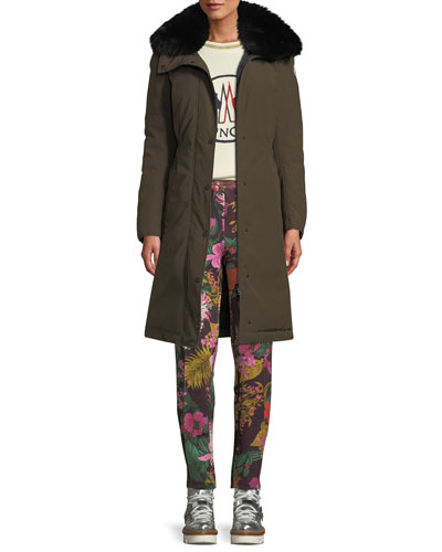 Jasseur Parka Coat w/ Removable Fur Collar and Matching Items