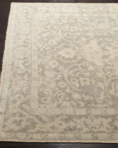 Rhett Hand-Knotted Rug  6' x 9'  and Matching Items