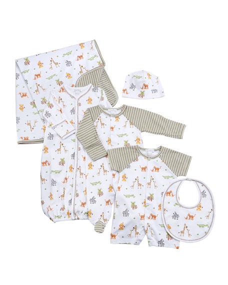 Jolly Jungle Convertible Gown, Size Newborn-S