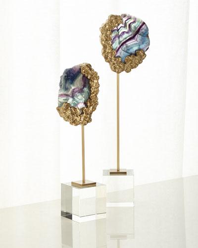 Fluorite Bud Short Sculpture  and Matching Items
