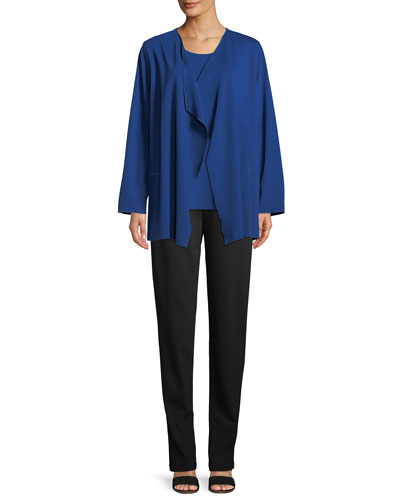 Ponte Luxe Saturday Jacket w/ Pockets, Plus Size and Matching Items