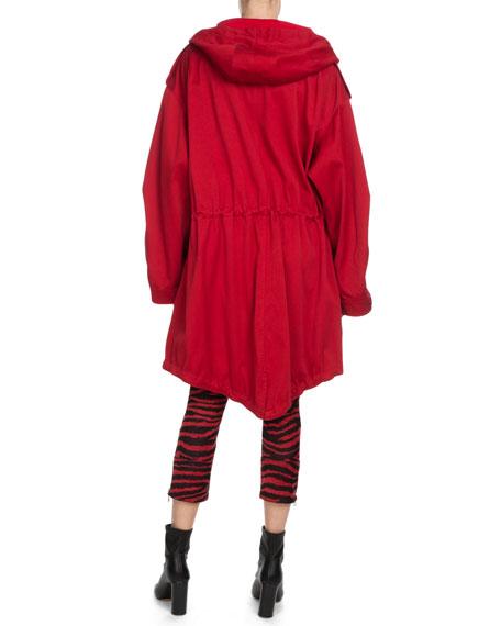 Etoile Isabel Marant Alone Zebra-Print Cropped Trousers