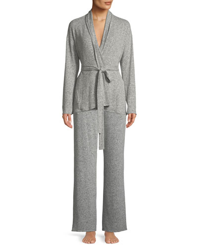 Ulla Brushed Rib-Knit Lounge Pants and Matching Items