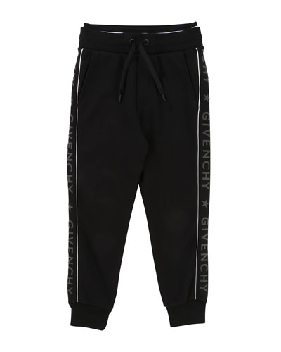 Jogging Pants w/ Logo Sides, Size 4-5  and Matching Items