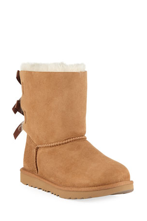 UGG Bailey Bow II Boot, Toddler Sizes 6-12 Bailey Bow II Sheepskin Boot, Kid Sizes 13T-6Y