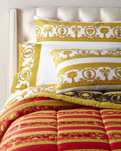 Greek Key Comforter and Matching Items