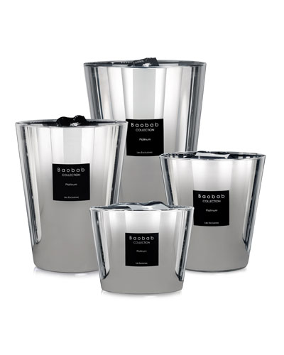 Max Platinum Scented Candle  6.3 and Matching Items