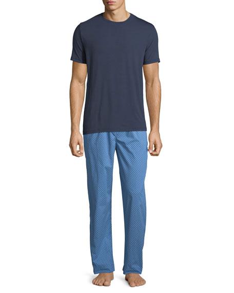 Derek Rose Basel 1 Jersey T-Shirt, Navy