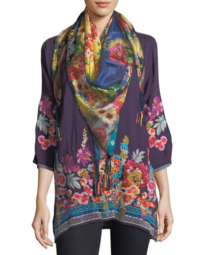 Araxi Floral-Embroidered Tunic, Petite and Matching Items