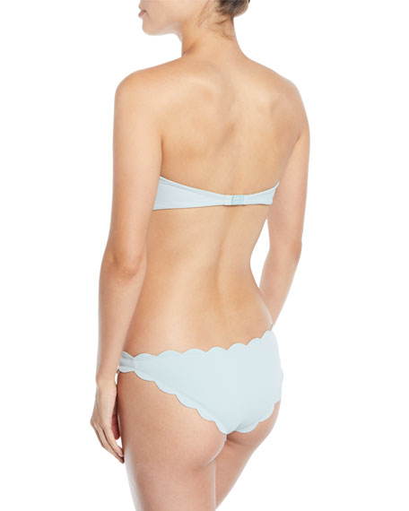 Marysia Antibes Scalloped Swim Top