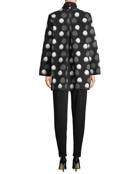 Caroline Rose Long-Sleeve Knit Turtleneck