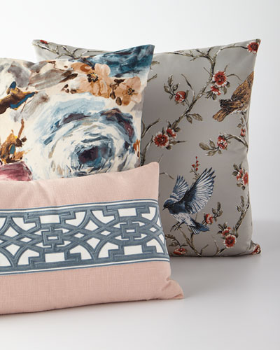 Lyon Pieced Pillow  and Matching Items