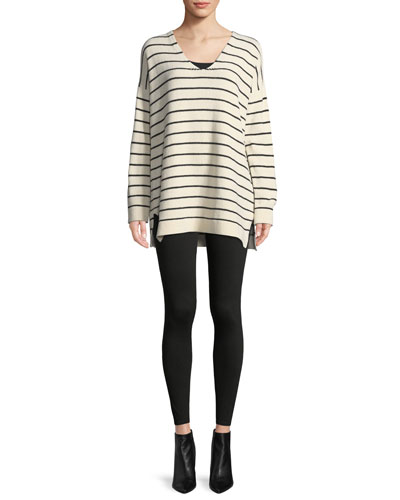 Chenille Striped Tunic Sweater and Matching Items