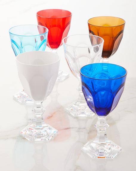 Mario Luca Giusti Turquoise Dolce Vita Wine Goblet