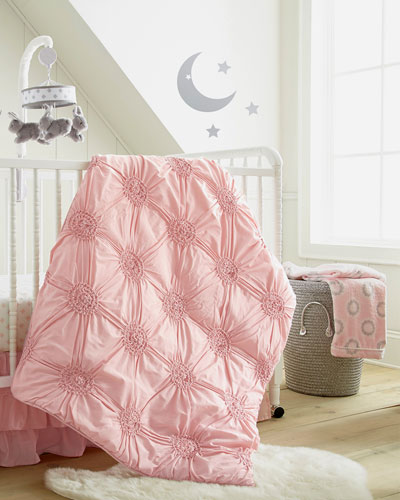 Willow Medallion Blanket  Pink  and Matching Items