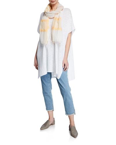 Organic Cotton Zigzag Jacquard Scarf  and Matching Items