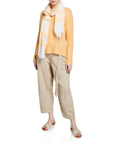 Organic Linen Long-Sleeve Tunic and Matching Items