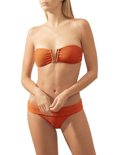 Casablanca Padded Bandeau Bikini Swim Top and Matching Items