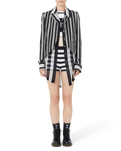 Jkt Stripe 34 Sleeve Boyfrie and Matching Items