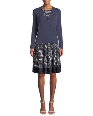 02da3e233e64e NIC+ZOE Plus Size 4-Way Long-Sleeve Cardigan Plus Size Melody Cap