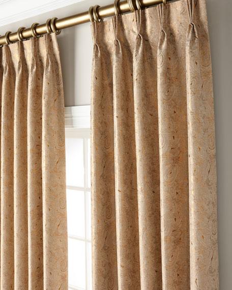 """Misti Thomas Modern Luxuries Rocky 132"""" Curtain Panel"""