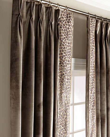 "Misti Thomas Modern Luxuries Ingram 120"" Curtain Panel"
