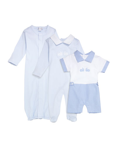 Bunny Hop Pique Convertible Gown  Size Newborn-S and Matching Items