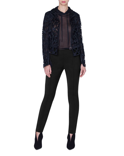 Amy Marker Embroidered Short Jacket and Matching Items