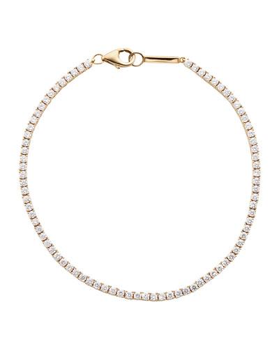 14k Rose Gold Diamond Tennis Bracelet and Matching Items