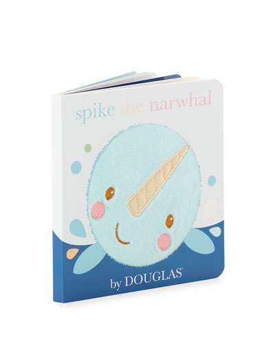 Spike The Narwhal Children's Board Book and Toys
