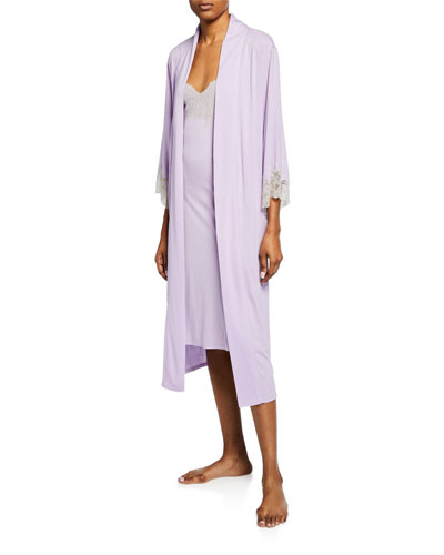 Luxe Shangri-La Knit Robe and Matching Items