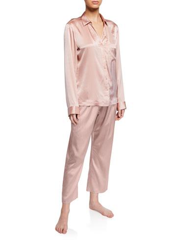 Renata Silk Pajama Top and Matching Items