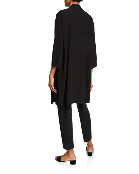 Eileen Fisher Petite Silk Jersey Long Slim Camisole