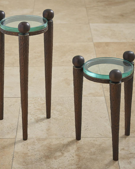 Global Views Rock On Large Accent Table