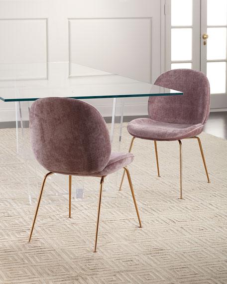 Interlude Home Oris Acrylic Dining Table